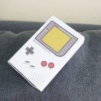 Nintendo Gameboy Favor Box
