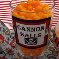 Pirate Cannon Cheese Balls