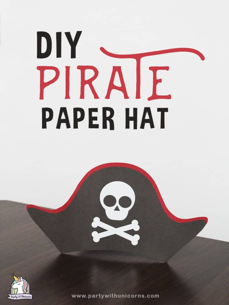 photo relating to Pirates Printable Schedule called Printable Pirate Hat Template For Youngsters