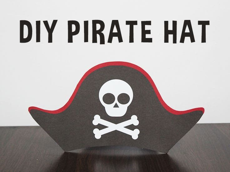 Printable Pirate Hat Template For Kids