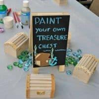 Pirate Paint-a-Chest Activity
