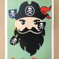 Pirate Pin-the-Patch Game