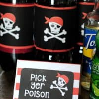 Pirate Poison Soda Drinks