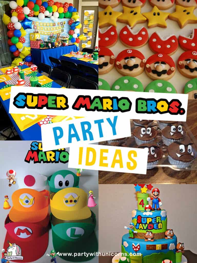 20 Awesome Super Mario Party Ideas With Free Super Mario Party Printables