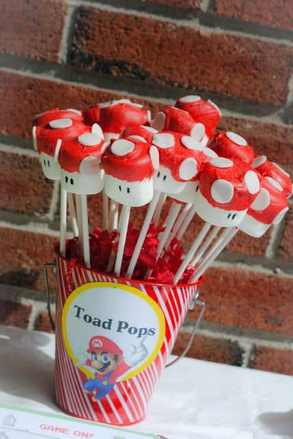 Mushroom/Toad Pops