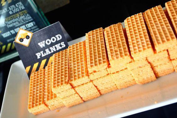 Wafer Wood Planks