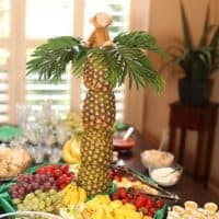 Monkey in a Pineapple Tree