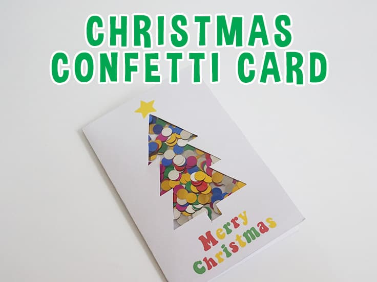 Confetti Christmas Card
