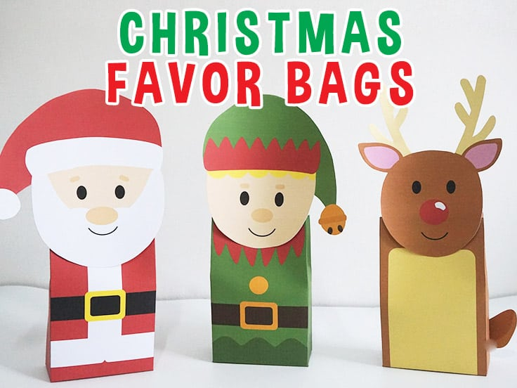 Christmas Favor Bag Featured Image