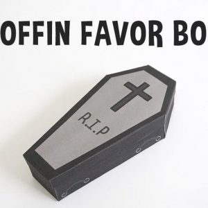 Coffin Favor Box