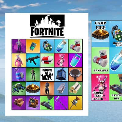 Fortnite Bingo