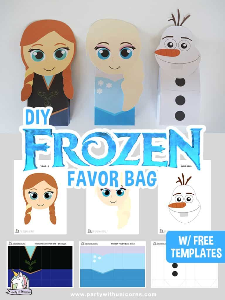 Disney Frozen Favor Bags
