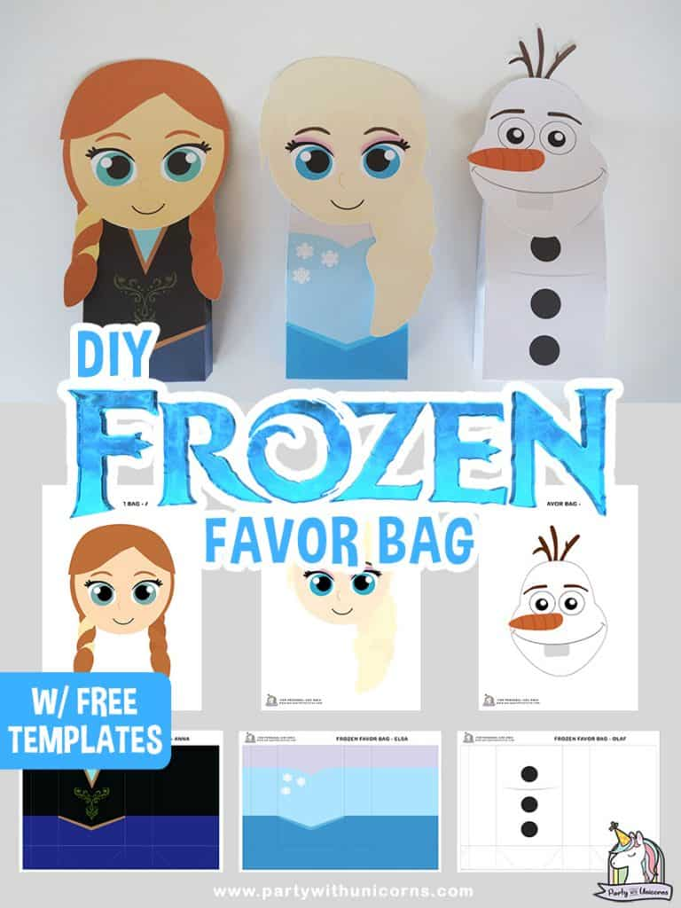 Frozen Favor Bags