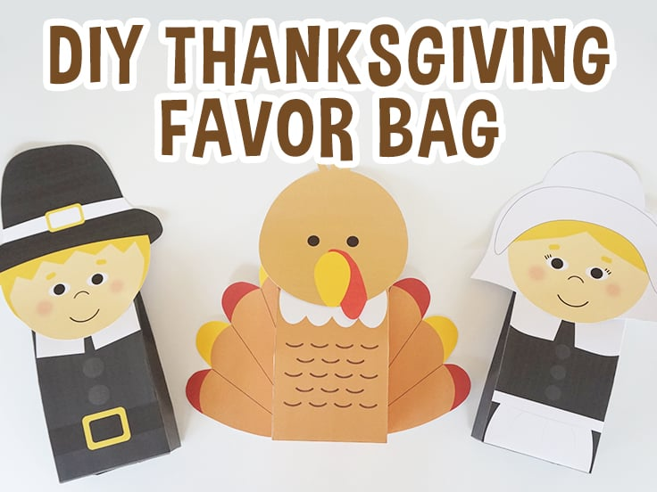 Thanksgiving Favor Bags
