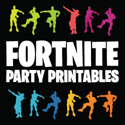 Complete Fortnite Printables Set