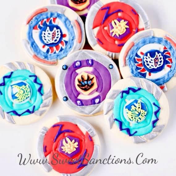 Beyblade Cookies