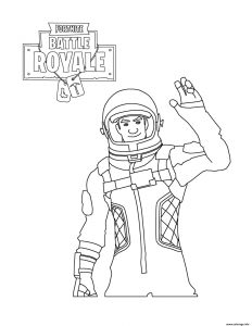Fortnite Battle Royale Coloring Pages for Kids