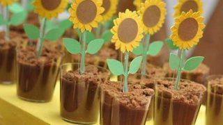Sunflower Chocolate Fudge Cup