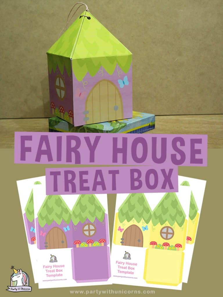 Fairy Party Favor Boxes Craft