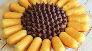 Sunflower Twinkie Cake