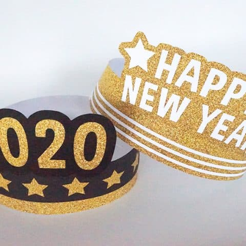 DIY New Year Paper Crown