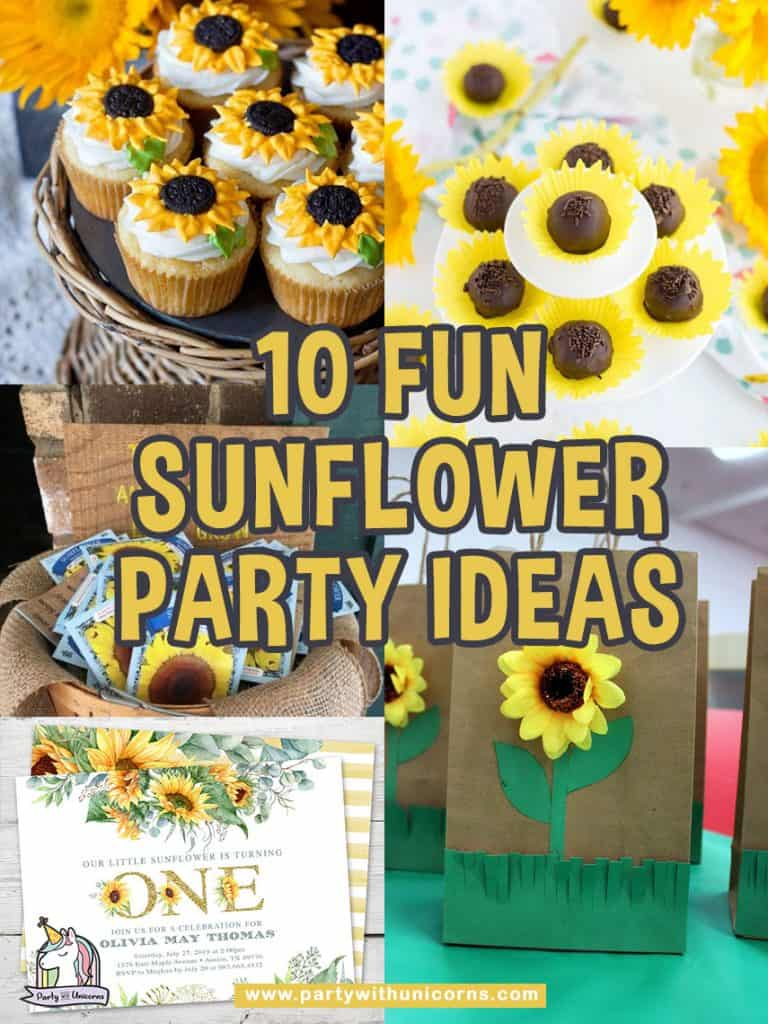 Sunflower Party Ideas