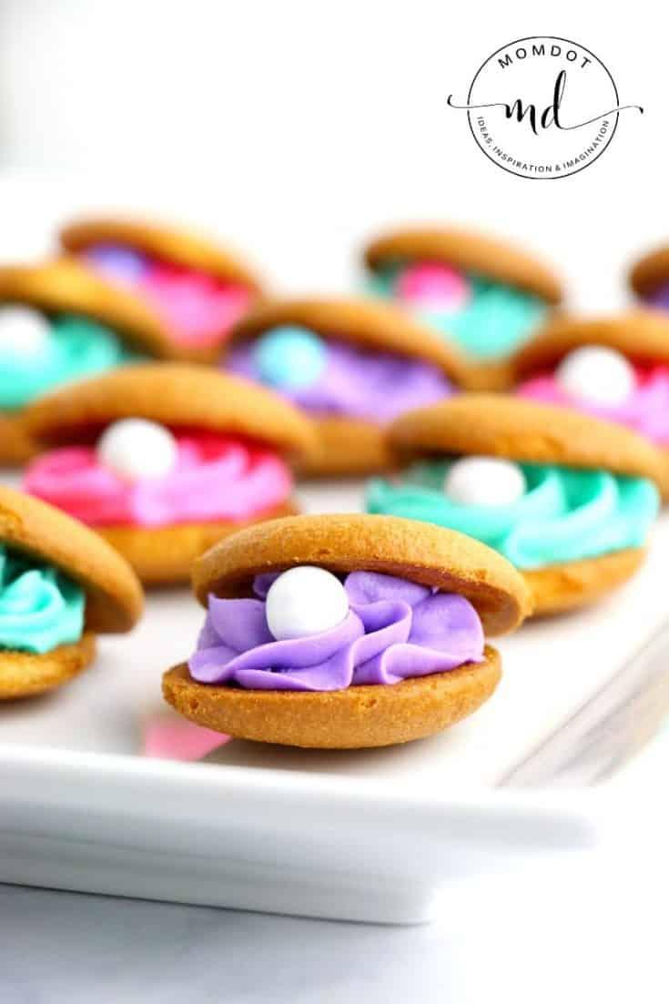Mermaid Clam Shell Cookies