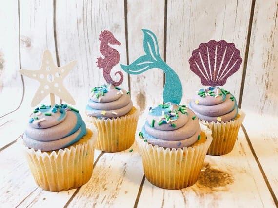 Mermaid Cupcake Topper