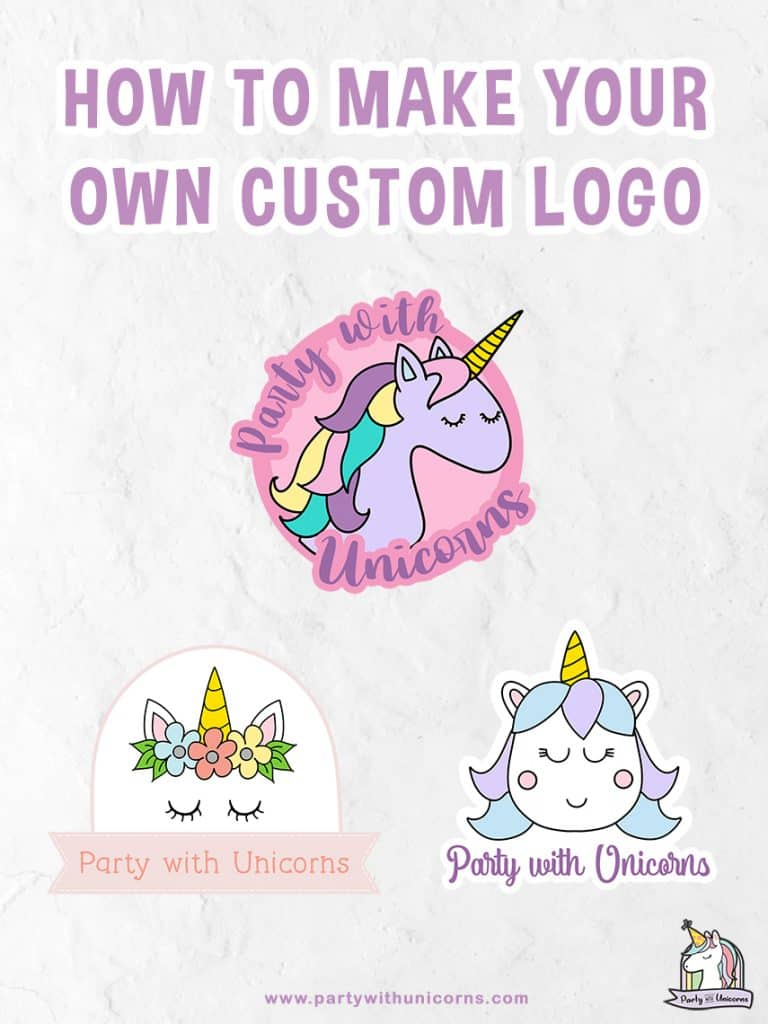 How to make your own custom logo