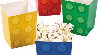 Lego Party Popcorn Box