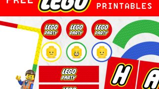 Lego Party Printables - Free Download