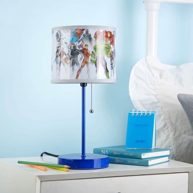 Superhero Stick Lamp