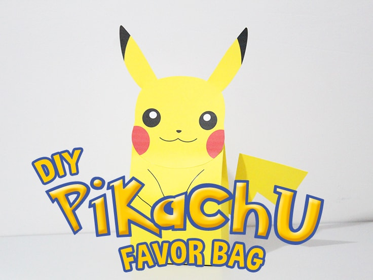 Pikachu Party Bag