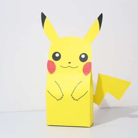 DIY Pikachu Party Favor Bag