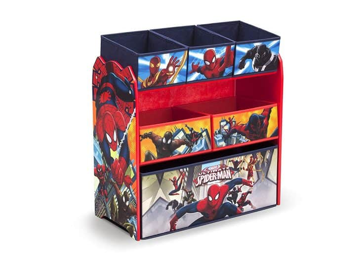 Spiderman Toy Organizer