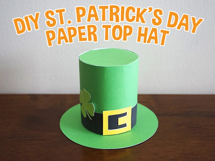 St. Patrick's Day Top Hat Craft