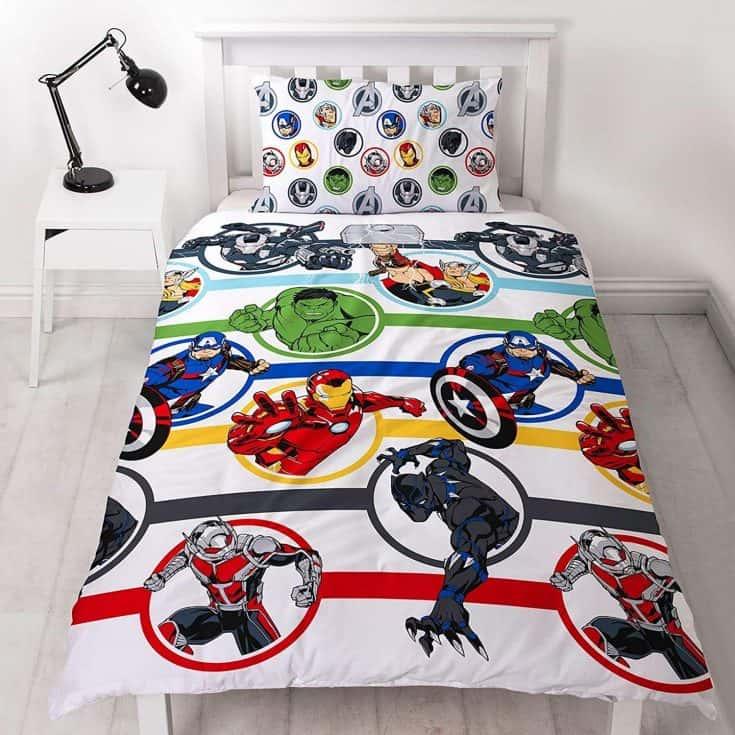 Superhero Bedding Set