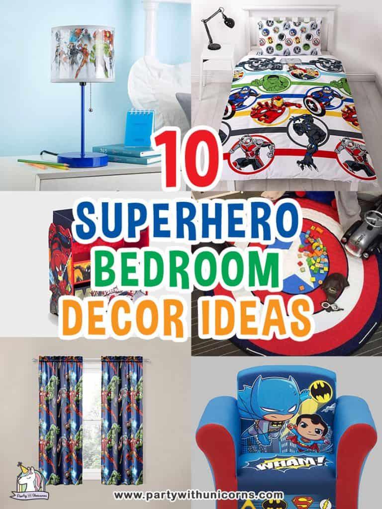 10 cool Superhero Bedroom Ideas