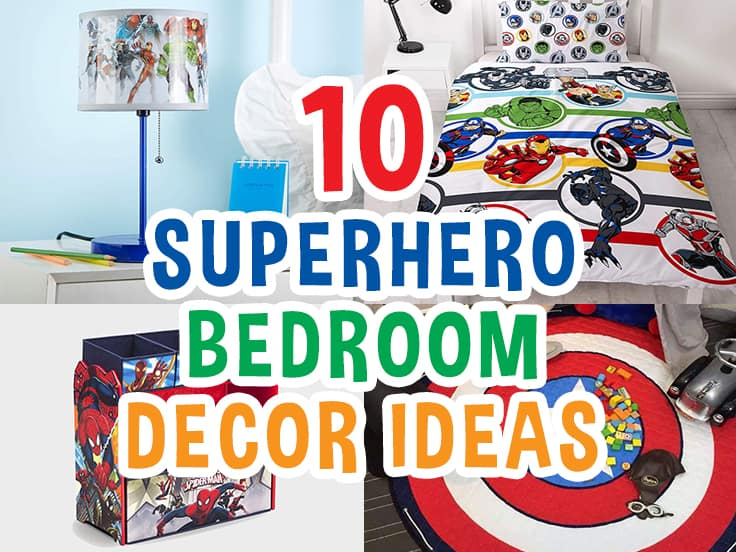 10 Cool Superhero Bedroom Decor Ideas