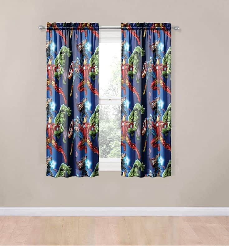 Superhero Curtains