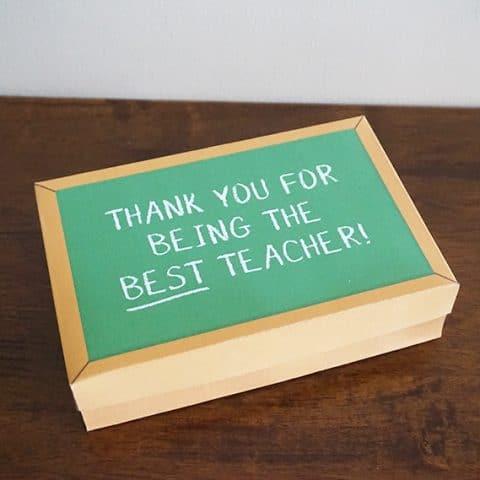 DIY Teacher Appreciation Gift Box