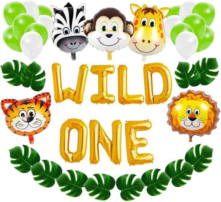 Wild One Balloon Decoration Kit