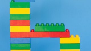 Lego Number Standee
