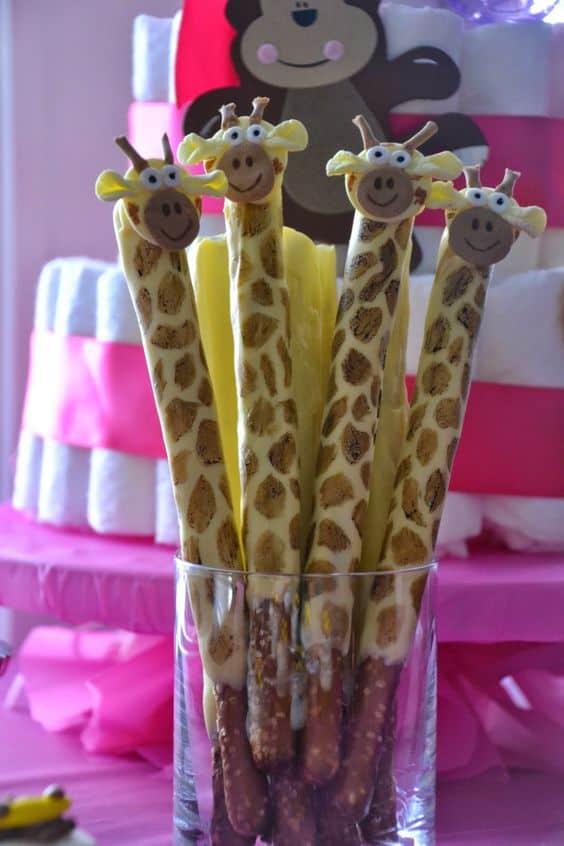 Giraffe Pretzels Recipe