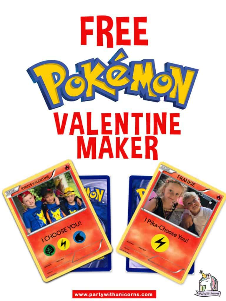 Pokemon Valentine Maker