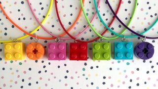 LEGO™ Brick Necklaces - Assorted Colours