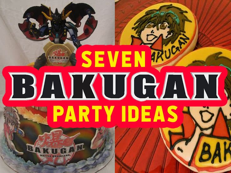 Bakugan Party Ideas