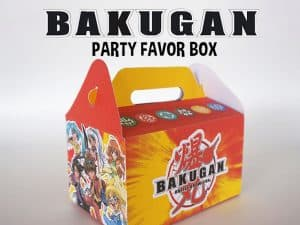 Bakugan Party Favor Box