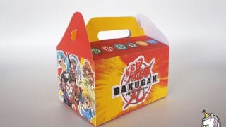 DIY Bakugan Party Favor Box