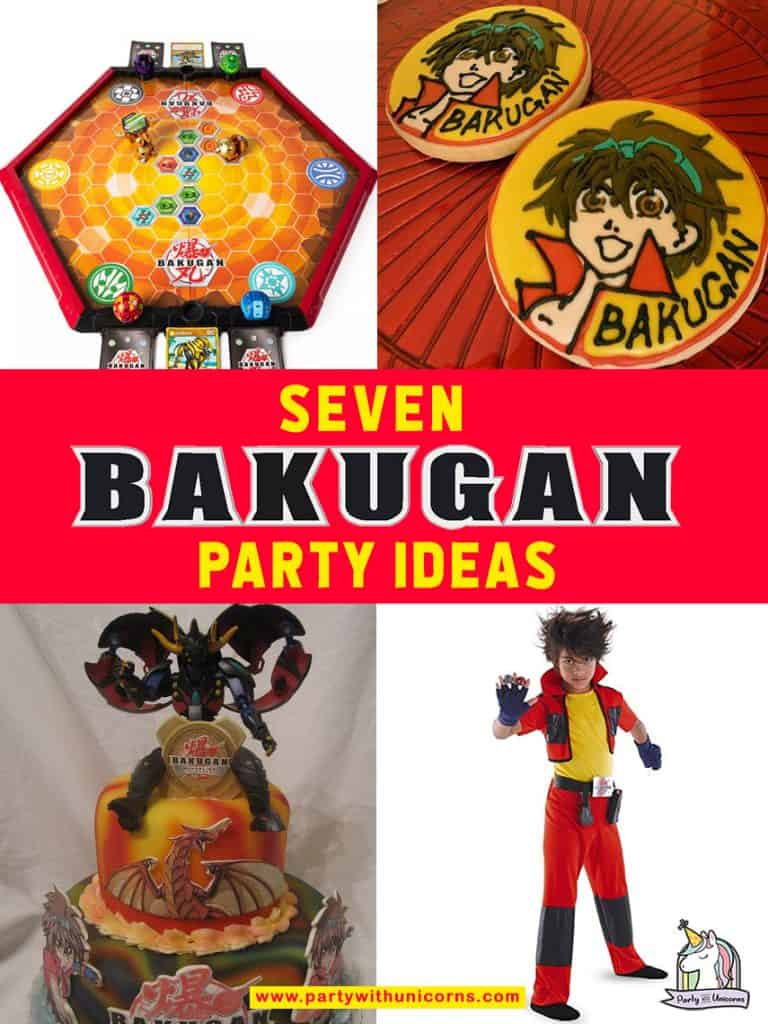 Are you planning a Bakugan Party? Check out this list of seven Bakugan party ideas for your event. This list includes links to free Bakugan Party Supplies includes Bakugan Party invitations, Bakugan Favor Boxes,  Bakugan Waterbottle Labels, Bakugan Chocolate Bar Wrappers, Bakugan Birthday Banners, Bakugan Thank-you Cards, Bakugan Cupcake Toppers and Wrappers.
